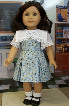 Inspired by Ruthie's movie frock by Keepersdollyduds, via Flickr