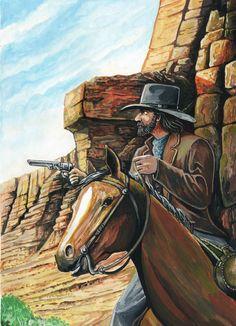 Gloria Pass Wild West R.Droulez