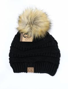 5d4be707537 Fur Pom CC Beanie Cc Beanie