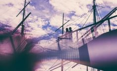 Creative Wedding Portraits at NYC South Seaport