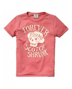 Colourful logo tee - T-shirts - Official Scotch & Soda Online Fashion & Apparel Shops
