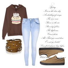 """""""🙉"""" by jasmine077 ❤ liked on Polyvore featuring Pusheen, Glamorous and Sif Jakobs Jewellery"""
