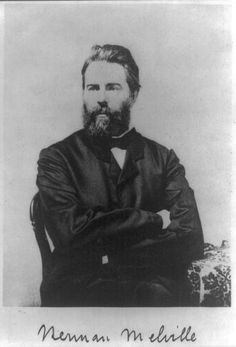 Portrait of Herman Melville from frontispiece to Journal Up the Straits, ca. 1860