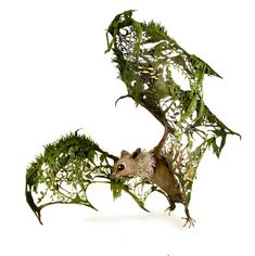 """Ellen Jewett's handsculpted and handpainted """"natural history surrealist sculptures"""" add surreal and sometimes-whimsical touches to wild creatures. Her recent works include the fantastical """"the burd…"""