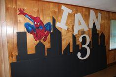 "Photo 1 of 11: Spiderman / Birthday ""Ian's 3rd Birthday "" | Catch My Party"