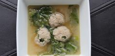 Allergy Free Italian Wedding soup.  Egg free meatballs in a yummy broth. Gluten, dairy, egg, soy and nut free