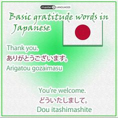 how to say thank you for your answer in japanese