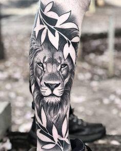 57 Ideas Tattoo Arm Sketch Tatoo For 2019 Lion Head Tattoos, Mens Lion Tattoo, Leo Tattoos, Animal Tattoos, Body Art Tattoos, Lioness Tattoo, Tiger Tattoo, Arm Tattoo, Lion Tattoo Meaning