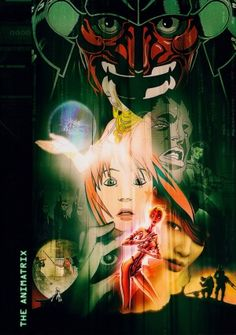 """The Animatrix (2003) directed by Peter Chung, Andrew R. Jones, Yoshiaki Kawajiri, Takeshi Koike, Mahiro Maeda, Koji Morimoto and Shinichiro Watanabe, written by the Wachowski brothers, starring the voices of many. """"The Animatrix is a collection of several animated short films, detailing the backstory of the """"Matrix"""" universe, and the original war between man and machines which led to the creation of the Matrix."""""""