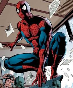 Spiderman; Spiderman is definitely one of my favourite super heros! Spiderman pose 4.