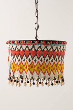 Kirdi Pendant Lamp, Large - anthropologie.com