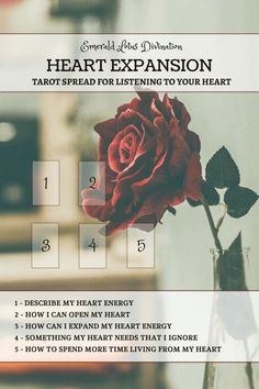 Tarot spread for listening to your heart! For more tarot spreads visit www. Tarot Card Spreads, Tarot Cards, Tarot Significado, Tarot Astrology, Oracle Tarot, Oracle Deck, Tarot Card Meanings, Tarot Readers, Card Reading