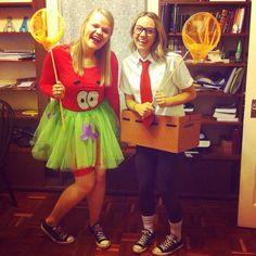 Spongebob Squarepants and Patrick halloween costume
