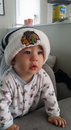 We even have little fans all the way in New Zealand! #Blackhawks