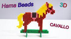 Cavallo con Hama Beads ✿ Perler Beads Caballo
