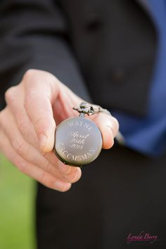 What a beautiful wedding gift to give groomsmen as a thank you for being there for the couple | Lynda Berry Photography #Wedding