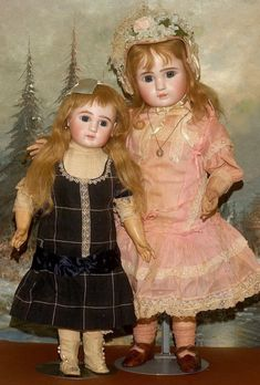"""HOLD FOR LZ : An Exceptional 24.5"""" ATTIC ORIGINAL Jules Steiner Figure A Bebe"""