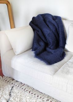 plaid mohair ezcaray sur capsule deco