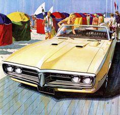 1968 Pontiac Firebird Convertible - 'Deauville': Art Fitzpatrick and Van Kaufman