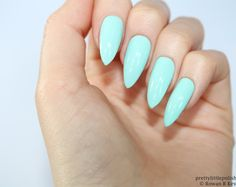 Mint stiletto nails, Fake nail, Stiletto nail, Kylie jenner, Black stiletto nail, Press on nail, Acrylic nail, Fake nail stiletto