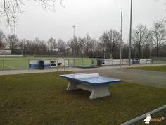 Pingpongtafel Blauw bij Afdeling MHCD Mixed Hockey Club Drunen  in Drunen