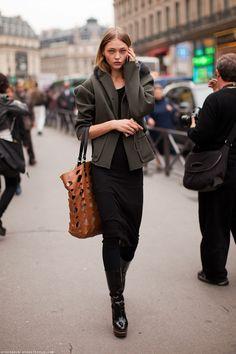 #green #jacket #fashion #phone