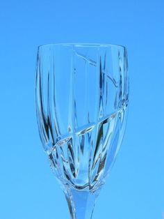 3 Vintage Mikasa Crystal Northern Lights Wine Glasses Stemware 5 Ounce  #Mikasa