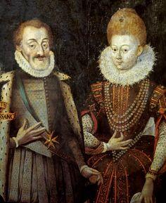Henri IV et Marie de Médicis, roi et reine de France et de Navarre, en 1601, par Mathieu Prieur