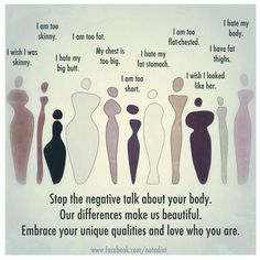 stop the negative talk about your body