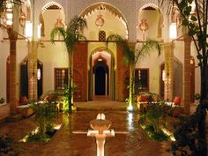The Riad is only 15 minutes from the airport Rabat-Salé