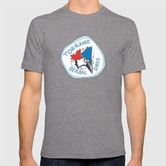 Extraordinary Observer Graphic T-shirt by Enkel Dika - Tri-Grey - SMALL - Mens Fitted Tee Owl T Shirt, Tiger T Shirt, Terry Fan, Black And White T Shirts, Home T Shirts, Retro Fashion, Shirt Designs, Mens Tops, Men Styles