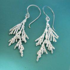 Juniper Earrings  Sterling Silver by esdesigns on Etsy