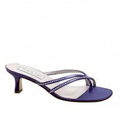 SCARLET-469 Women Low-Heel Sandals - Purple