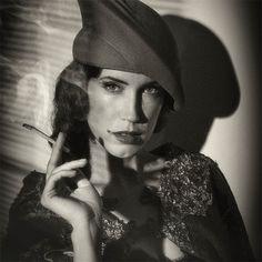 Dark_Pleasures II by Santi Xander in Film Noir: 30 Impressive Portraits