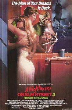 A Nightmare on Elm Street Part 2: Freddy's Revenge Movie Poster - Internet Movie Poster Awards Gallery