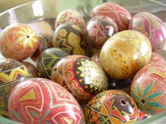 Decorated Eggs, Persian New Year.