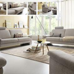 Pohodlná sedací souprava konzervativního stylu v látkovém i celokoženém provedení. Konfigurovatelná pouze jako samostatné sofa, např. 3+2,5+1, 3+2+1, 3+2, 3+1+1, apod.
