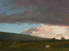 Evening Clouds . Julian Merrow-Smith