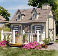 Tiny Cottage  | Playhouses and Kits to Buy - Build Your Own Playhouse or Treehouse