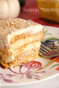 Sweet Lavender Bake Shoppe: pumpkin tiramisu? yeah, pumpkin tiramisu...