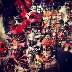 Venetian masks.