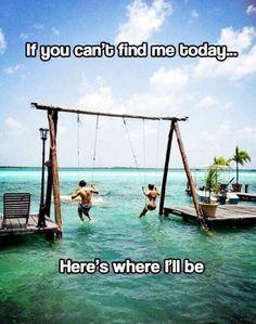 Here's where I'll be