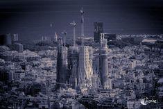 Sagrada Família – black and white