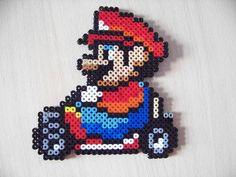 Perles Hama : Mario - Les loisirs de Pat