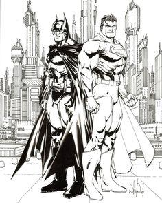 #superman #leapday2016 #whilceportacio #batman #dccomics by whilceportacio