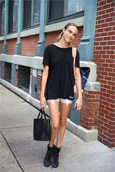 Get the model look - Cara Delevigne