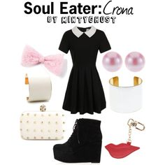 """Soul Eater: Crona"" by mintyghost on Polyvore"