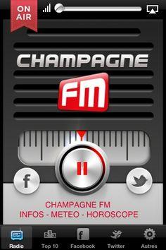 UI Design - Champagne FM
