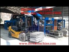 block making machine is a fully automatic hydraulically operated block machine and is known for its high performance and excellent flexibility. Pallet s. Machine Video, Making Machine, Pallet Size, Concrete Mixers, Wooden Pallets, Wood Projects, Flexibility, Brick, Twin
