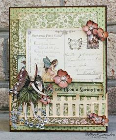 Once Upon A Springtime Card by MelissaSamuels @2peasinabucket